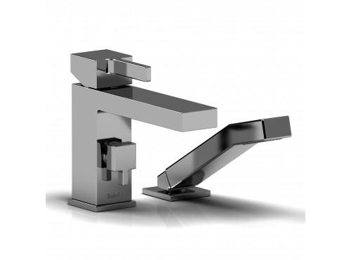 Riobel -2-piece deck-mount tub filler with hand shower - MZ02C Chrome