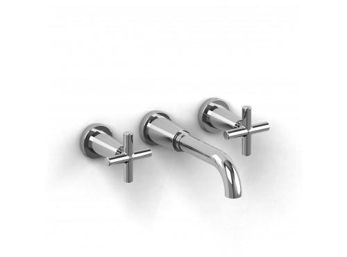 "Riobel -8"" wall-mount lavatory faucet - PA03+"