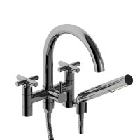 "Riobel -6"" tub filler with hand shower - PA06+"