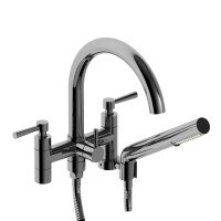 "Riobel -6"" tub filler with hand shower - PA06L"