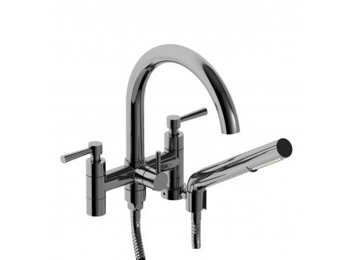 "Riobel -6"" tub filler with hand shower - PA06L"