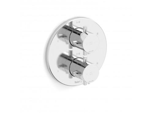 Riobel -4-way coaxial valve trim - TPATM46+