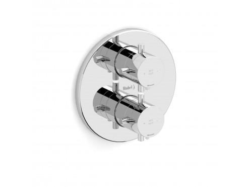 """Riobel -4-way ¾"""" coaxial complete valve - PATM83+"""