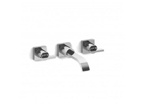 "Riobel -8"" wall-mount lavatory faucet - PFTQ03TC Chrome"