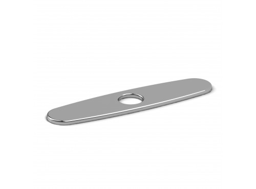 "Riobel -8"" center kitchen faucet deck plate - PL8"