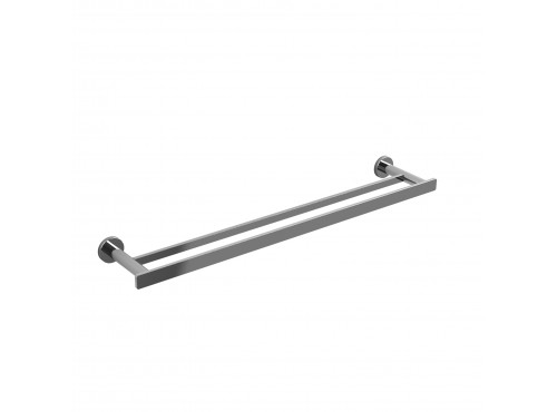 "Riobel -60 cm (24"") double towel bar - PX6C Chrome"