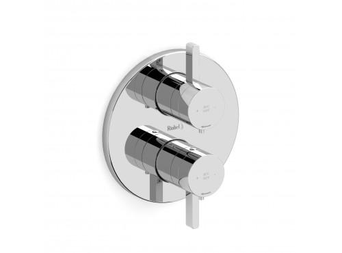 """Riobel -4-way ¾"""" coaxial complete valve - PXTM83C Chrome"""