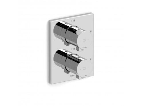 "Riobel -4-way ¾""coaxial complete valve - PXTQ46C Chrome"
