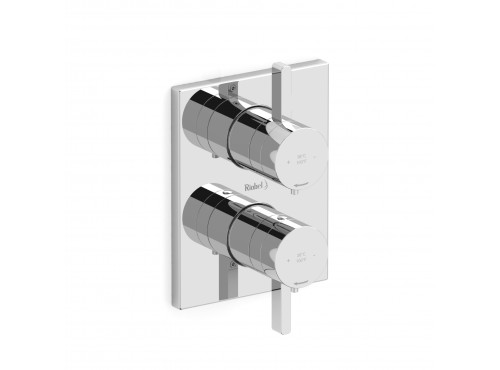 "Riobel -4-way ¾"" coaxial complete valve - PXTQ83C Chrome"
