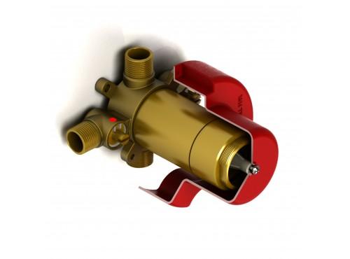Riobel -2-way valve rough without cartridge - R23