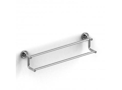 "Riobel -60 cm (24"") double towel bar - ST6"