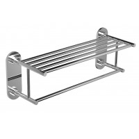 "Riobel -60 cm (24"") towel bar with shelf - ST9"