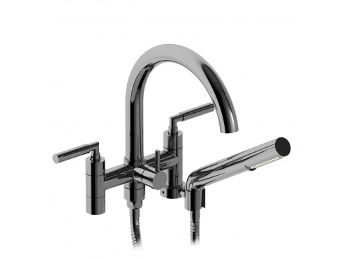 """Riobel -6"""" tub filler with hand shower - SY06L"""