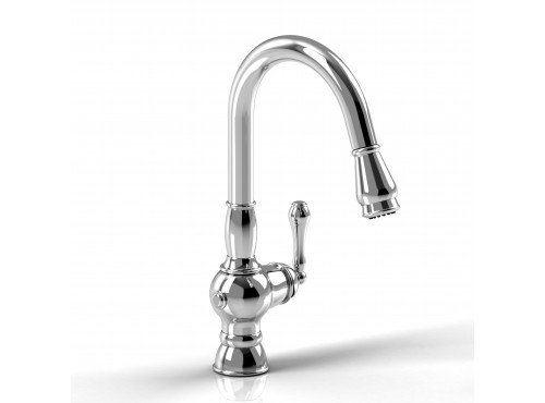 Riobel -Kitchen faucet with spray - TC101BN Brushed nickel