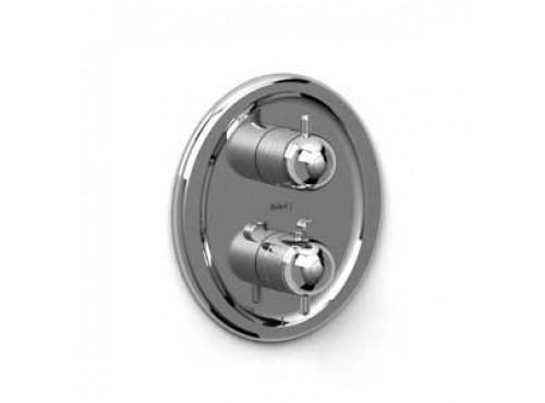 "Riobel -½"" complete valve with shut-off valve - TS42C Chrome"