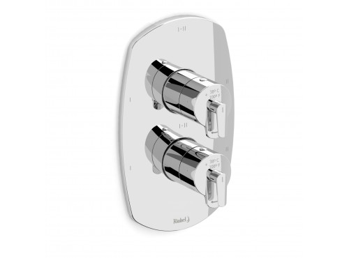 """Riobel -4-way ¾""""coaxial complete valve - VY46C Chrome"""