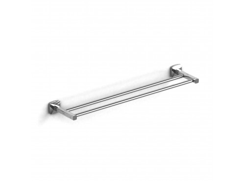 "Riobel -60 cm (24"") double towel bar - VY6C"