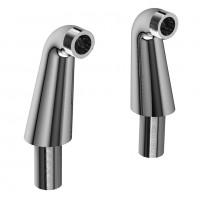 """Riobel -10 cm  (4"""") high floor riser pair, ½"""" off-set - TU99"""