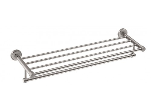 "26"" Towel shelf with bar"