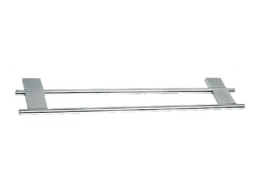 "24"" Double Towel Bar."