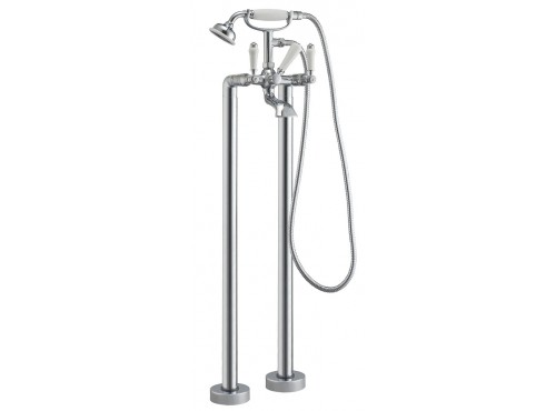 Freestanding bath shower mixer