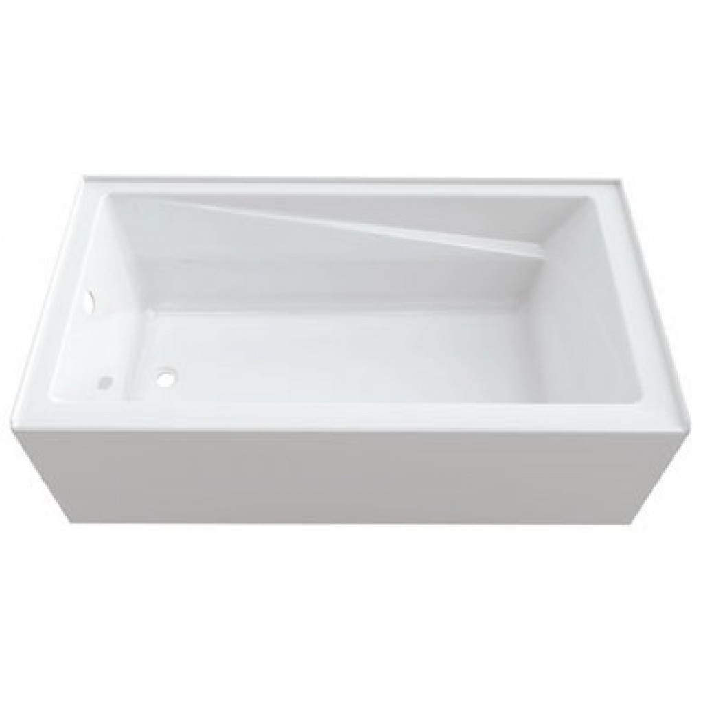 Neptune acrylic soaker bathtub azea for Acrylic soaker tub