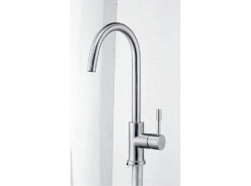 Kitchen Faucet. Stainless steel Finish