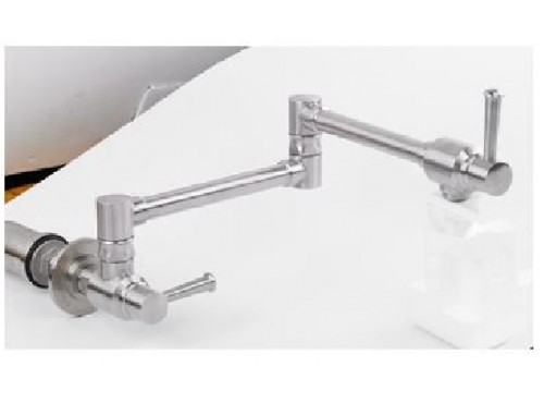 Kitchen wall mount faucet. Chrome Finish