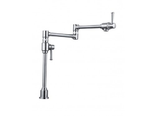 Kitchen wall mount faucet. Stainless steel Finish