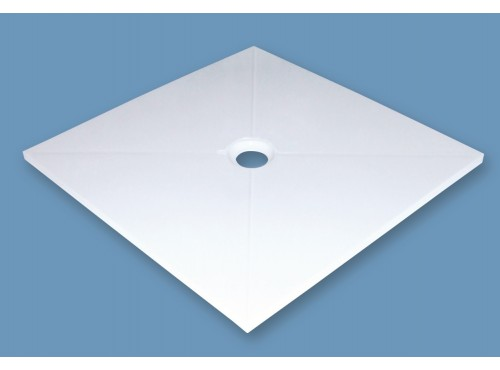 Polymarble shower base