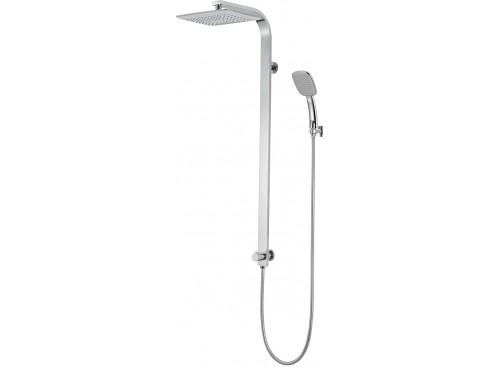 Flat shower column