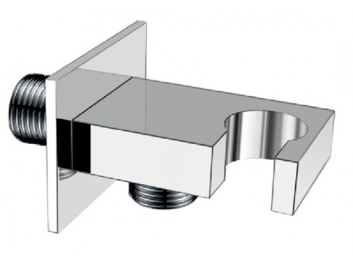 Elbow supply with bracket