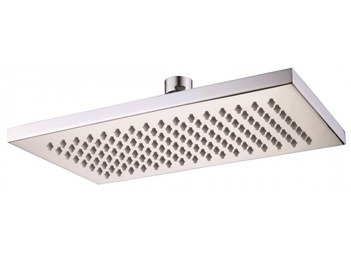 "8"" x 12"" Rectangular shower head"